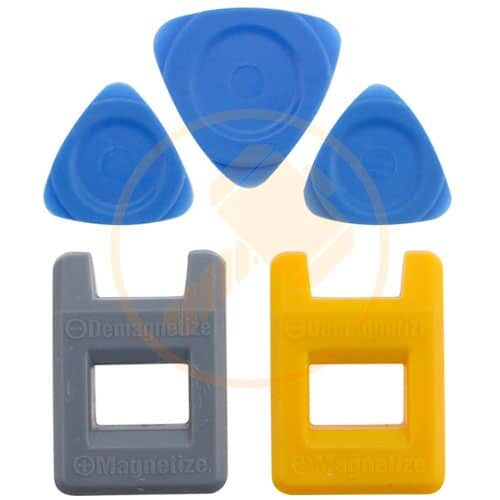 MAGNETIZER AND DEMAGNETIZER + PLASTIC PADDLES