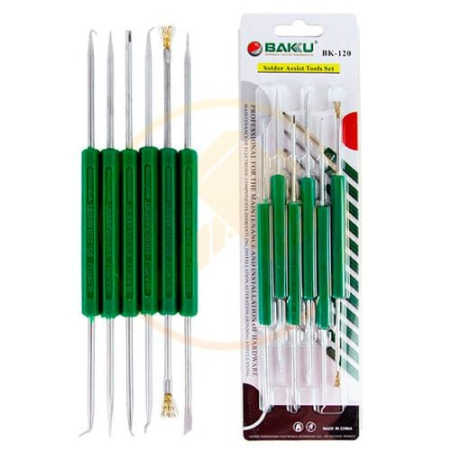 AUXILIARY WELDING TOOLS. BK 120 6 IN 1.