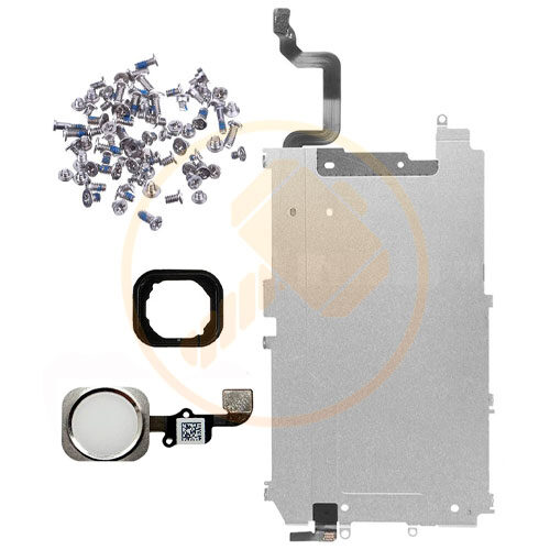 THERMAL METAL SHEET / HOME BUTTON IPHONE 6 White